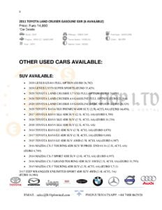 clean and used cars for sale online
