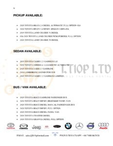 Buy used and clean Toyota cars now online